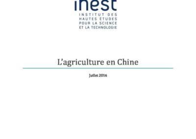 L'agriculture en Chine