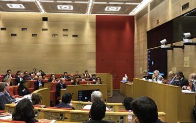 Audition des auditeurs de l'IHEST devant les parlementaires de l'OPECST au Sénat