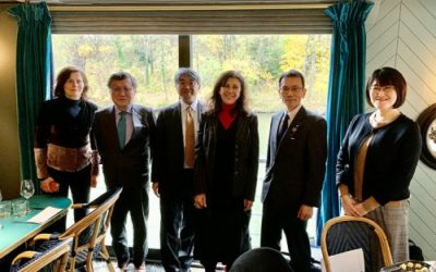 Rencontre avec la Japan science and technology agency
