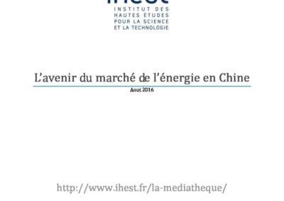 L'avenir du marché de l'énergie en Chine