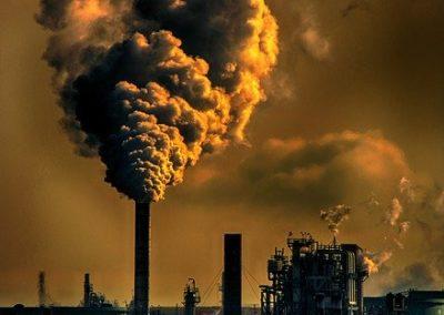 Pollution de l'air et de l'eau
