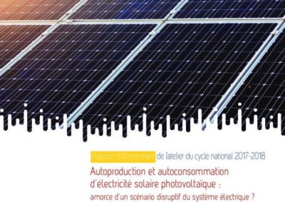 Autoproduction et autoconsommation d'électricité solaire photovoltaïque