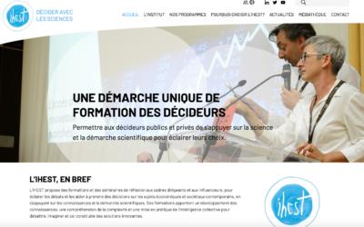 L'IHEST affirme son positionnement avec le lancement de son nouveau site web