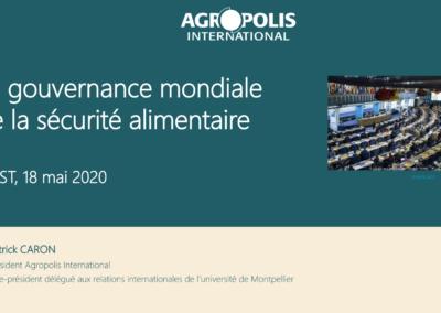 La gouvernance mondiale de la sécurité alimentaire
