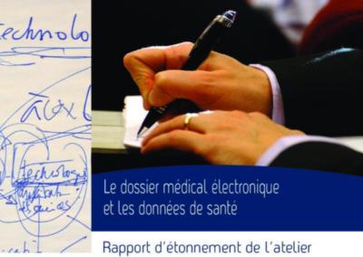 Le dossier médical électronique et les données de santé