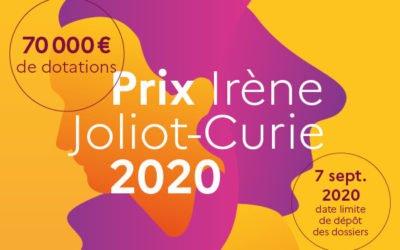 Lancement de  la 19e édition du Prix Irène Joliot-Curie