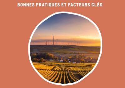 Territoires et transition énergétique : bonnes pratiques et facteurs clés