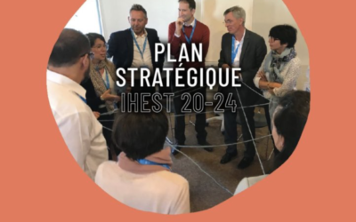 Le plan stratégique 20-24 de l'IHEST porte les ambitions de l'institut pour les 4 ans à venir