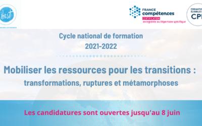 « Mobiliser les ressources pour les transitions », le thème du cycle 2021-2022 de l'IHEST, formation certifiante pour décideurs